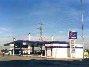 1 litro de la gasolina es cuánto tenge